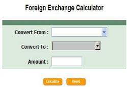 Foreign Exchange Calculator
